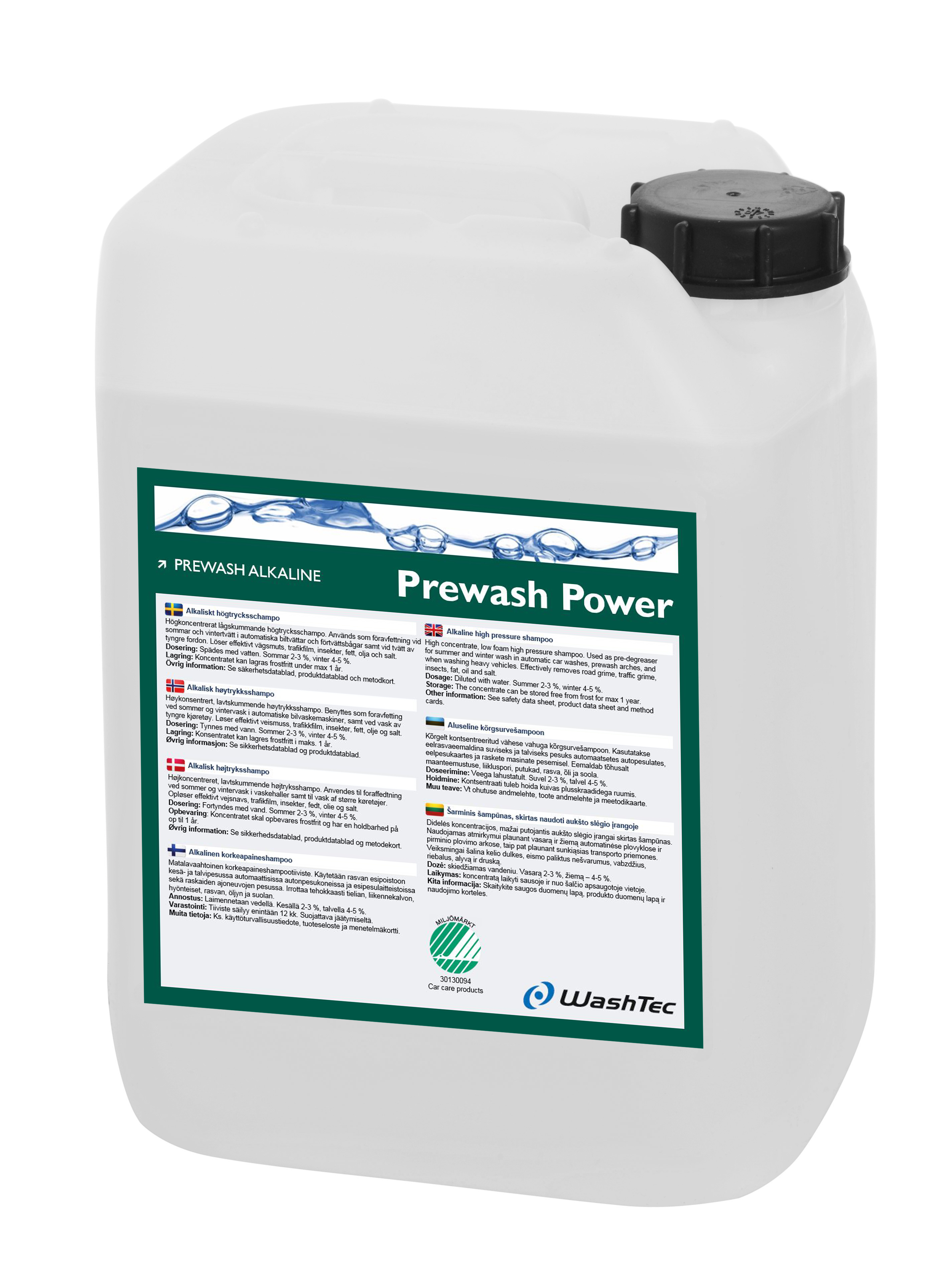 Prewash Power 10 L