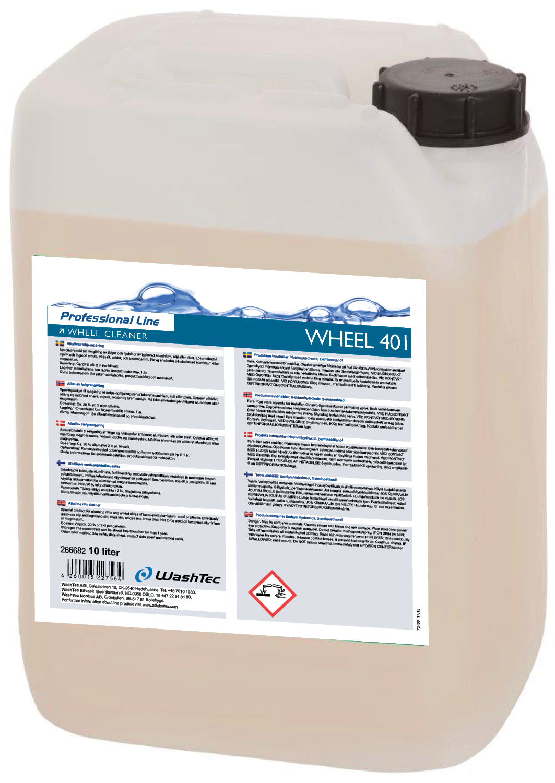 WHEEL 401 - Wheel Cleaner 10 L
