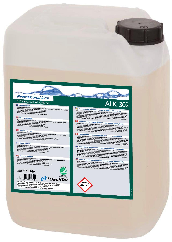 ALK 302 - Prewash Alkaline 10L