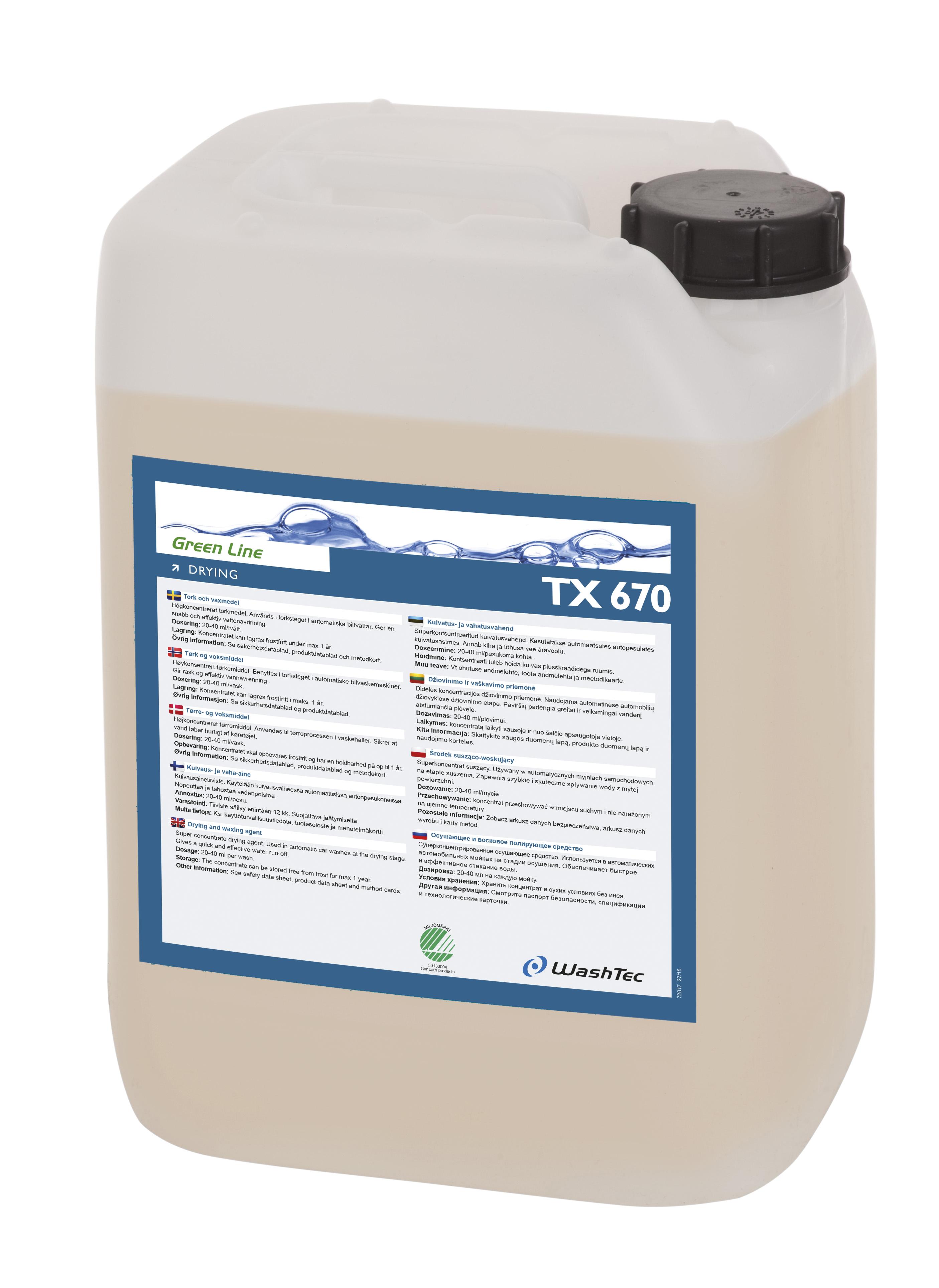 Drying TX 670 10 L